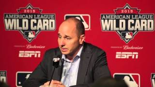 Yankees GM Brian Cashman reacts to news that CC Sabathia heading to alcohol rehab