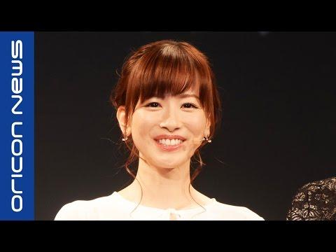 皆藤愛子、商品プレゼン初挑戦に緊張「足が震えました」 『ファーウェイ・ジャパン』新製品発表会
