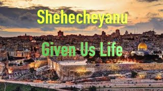 "Shehecheyanu   Cantor Rev Misha Joy   Prayers of the Testaments™ God's Words    ""Freedom"" album"