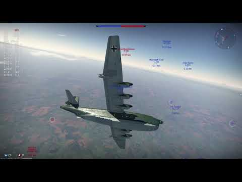 WarThunder: BV-238 - THE BIGGEST AIRCRAFT IN THE GAME!!!