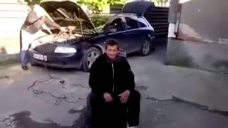 Test de airbag en Bulgaria