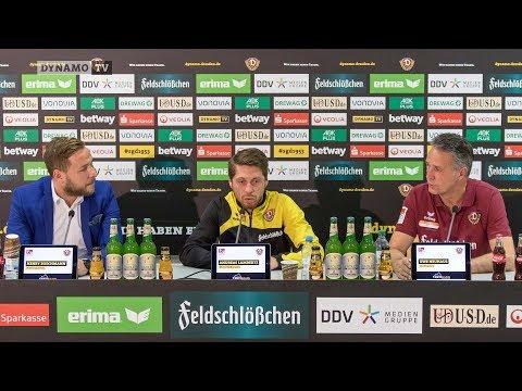 15. Spieltag | F95 - SGD | Pressekonferenz vor dem Spiel