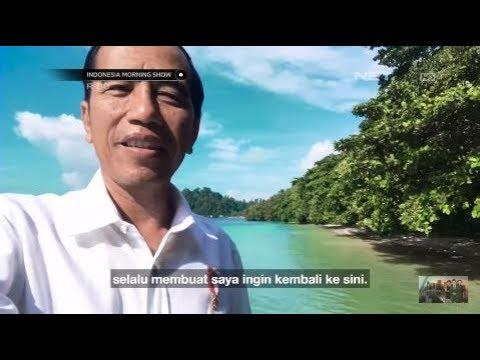 Viral! Vlog Presiden Jokowi di Raja Ampat