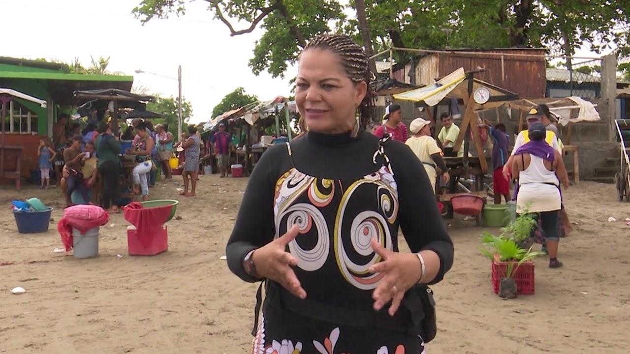 Reportaje de madres de pesca artesanal