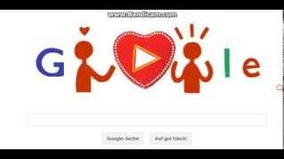 Google Doodle * Valentinstag 2014 * Tag der Liebe *