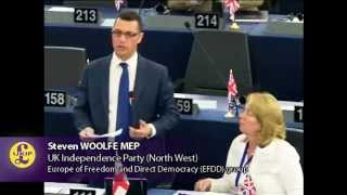 Intellectual Property Rights for sole benefit of large multinational corporations - Steven Woolfe