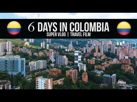 6 Days in Colombia | Super Vlog Travel Film