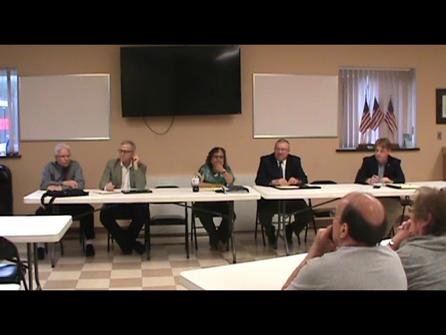 Town of Plattsburgh Meeting  6-28-18