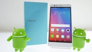Huawei Honor 5X Unboxing & Hands On Overview