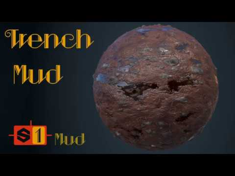 How to create: Mud | Trench Mud Material | Substance Designer Tutorial | Ep. 01