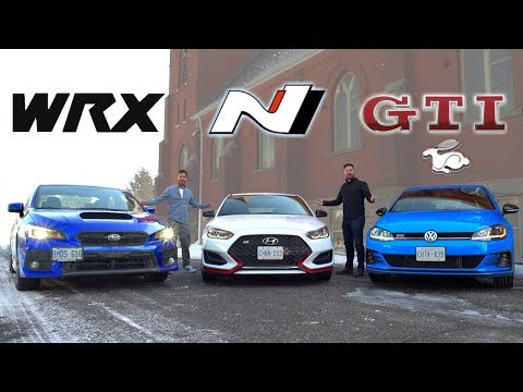 Throttle House] 2019 Veloster N vs Golf GTI vs Subaru WRX : cars