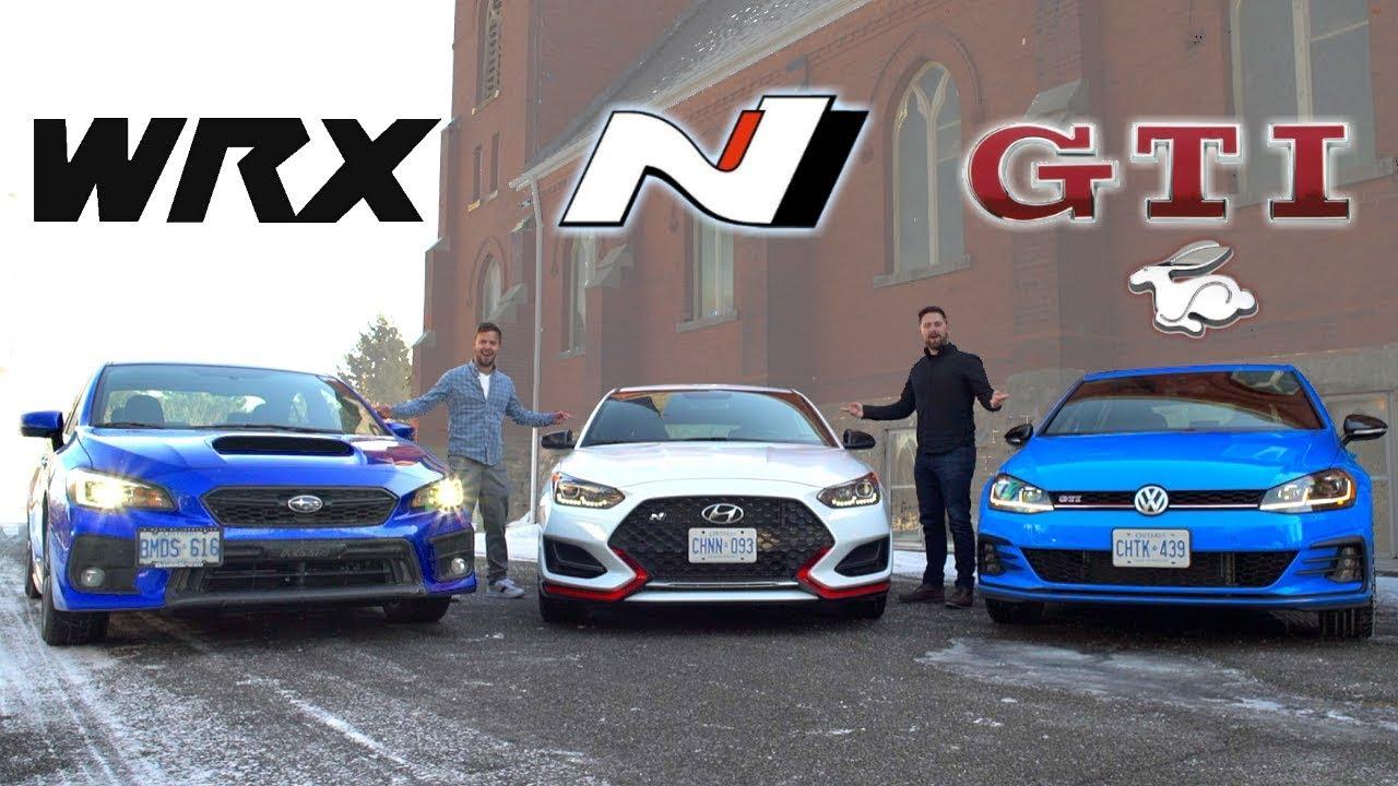 Wrx Vs Gti >> 2019 Veloster N vs Golf GTI vs Subaru WRX // The $30K Question - YouTube