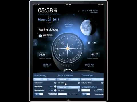 Deluxe Moon HD for iPad: Learn How Moon Phases Influence Your Life