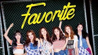 [preview] favorite (페이버릿) 1st mini album _ my favorite