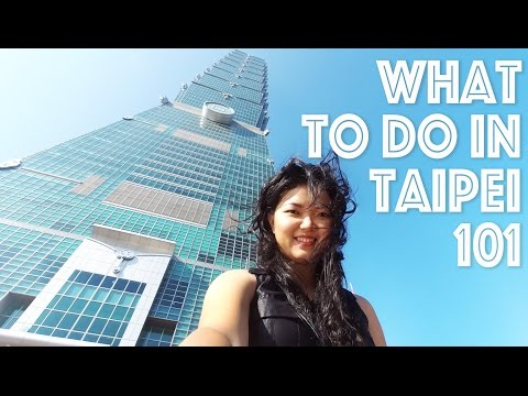 TRAVEL TAIWAN VLOG - Taipei 101