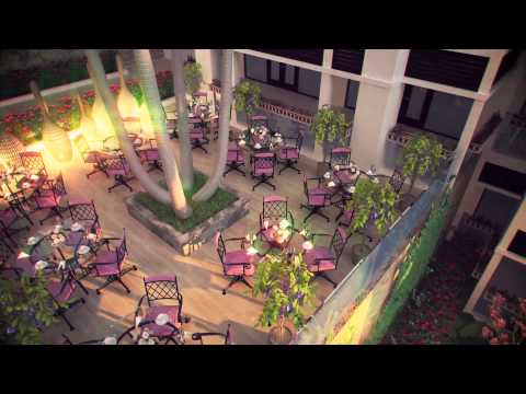 2013 Pure Beach Resort 3D rendering Animation