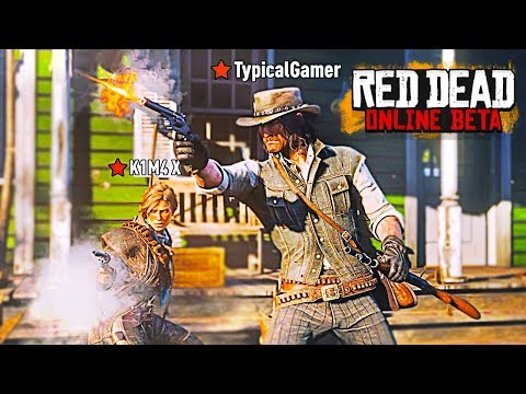 Red Dead Online - Leveling Up Fast, Easy Money & Gold! (Red Dead Redemption 2 Multiplayer Gameplay)