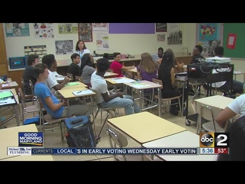 Some homework assignments to be included in Baltimore County final grades