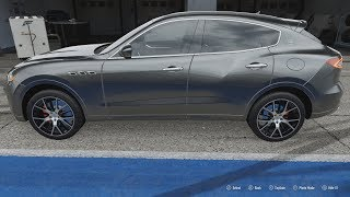 FORZA Motorsport 7 - 2017 Maserati Levante S - Car Show Speed Crash Test .