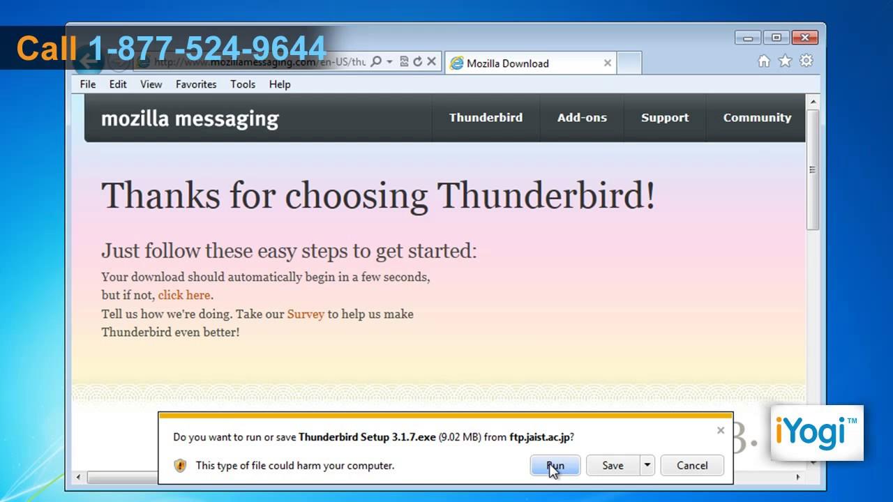 thunderbird 3.1.7