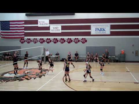 2017 Thomas Ewing Jr. High 7th Grade Volleyball - Game 2 Newark Heritage
