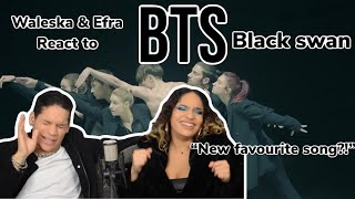 BTS Black Swan' Art Film performed by MN Dance Company| REACTION VIDEO!!!
