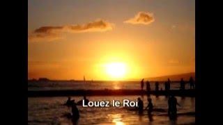 Louez Yahveh - Paroles (lyrics)
