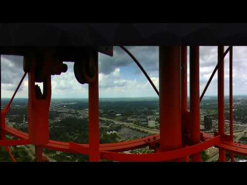 Climb to the top of WXYZ's antenna tower for 360º view of SE Michigan