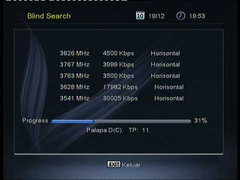 Decoder Orange TV- Pengaturan Antena Diseq 4 X1