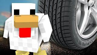 КУРИЦА НА ДОРОГЕ - Minecraft (Мини-Игра)