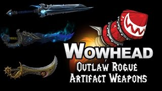 Outlaw Rogue Artifact Weapons - Fate & Fortune, The Dreadblades