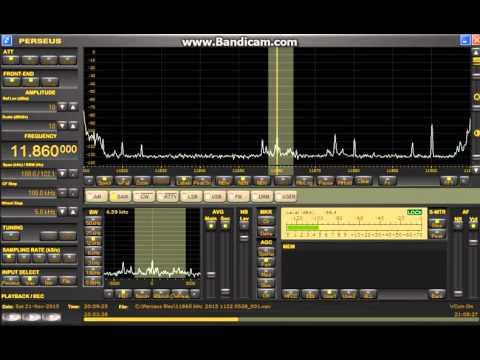 11860 kHz Yemen Radio Sana'a / Nov 21,2015 2049 -2103 UTC