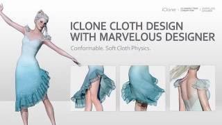 iClone Cloth Design With Marvelous Designer