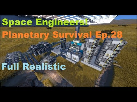 Space engineers   Planetary survival Ep 28