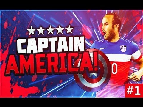 Captain America #1 - LEGEND LANDON DONOVAN RTG! - FIFA 16 Ultimate Team RTG