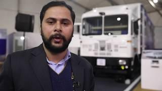 Daman Dewan DSA Freight Carrier, GS of ACWA, at Tata Motors 360° E comm Expo, Gurugram