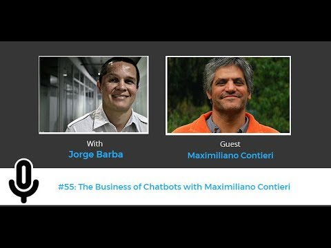 The Business of Chatbots with Maximiliano Contieri | Big Bang #55