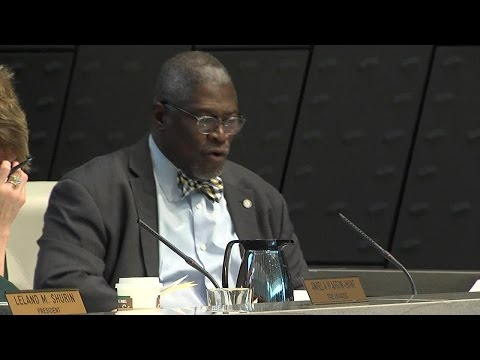 Mayor Sly James remarks at first 2017 Board of KCPD Commissioners meeting