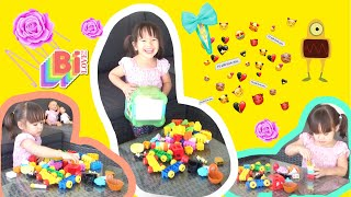 Milena playing the toys alone | Kid songs | CHILDRENS MUSIC Upbeat Happy Song ROYALTY