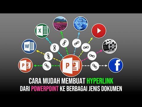 Cara Mudah membuat Hyperlink pada PowerPoint
