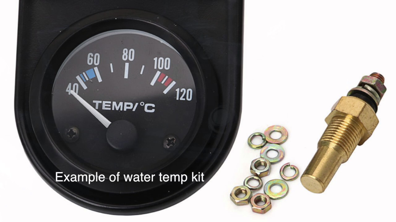 Outboard Motor Maintenance - Yamaha Temperature Gauge and Sensor