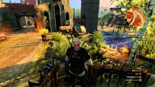 The Witcher 3 - Griffin Steel Sword Crafted (Griffin School Gear) Ingredients, Blacksmith Location