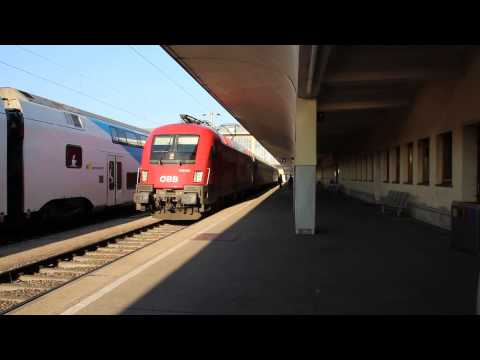 Very short express train Vienna - Moscow