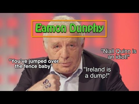 Eamon Dunphy's Best Moments at RTÉ (HD)