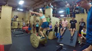 Jessie Graff Ninja League Qualifier 1st place run