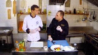 """6 Кулинарный телепроект """"ШЕФ"""" - Стейк из филе говядины с овощами паризьен. Блек Джек."""