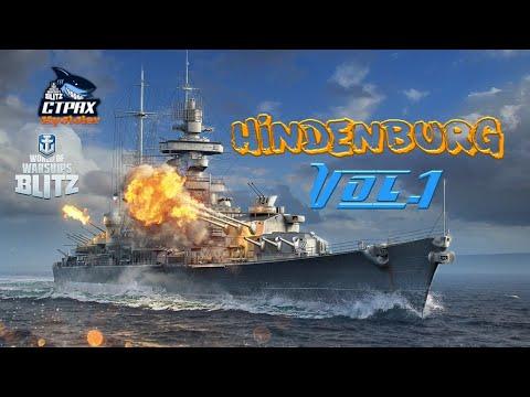 WOWS BLITZ Флот СТРАХ: Hindenburg X