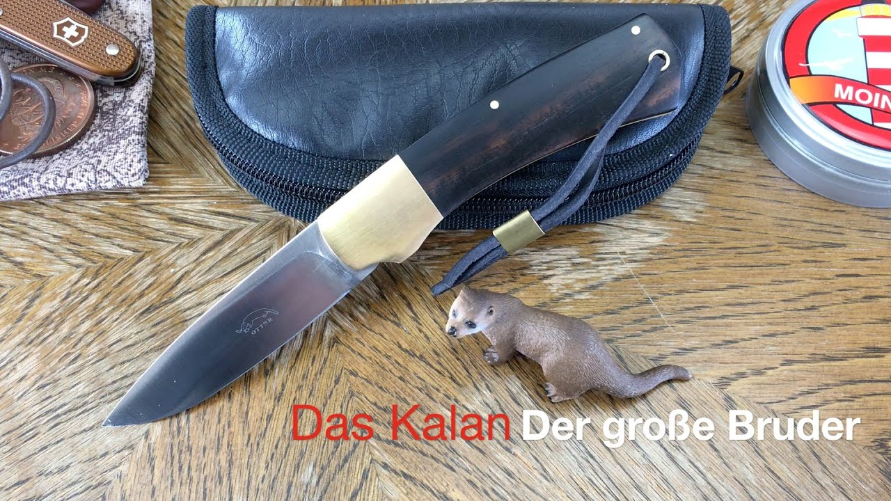 otter messer das kalan kr ftiges und robustes taschenmesser aus solingen youtube. Black Bedroom Furniture Sets. Home Design Ideas