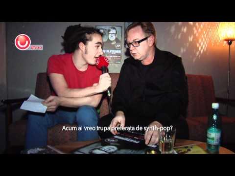 Andy Fletcher 2011 Interview @ Utv