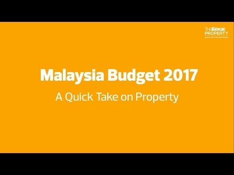 Malaysia Budget 2017 -  A Quick Take on Property